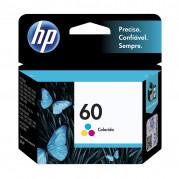 CARTUCHO ORIGINAL HP 60 COLORIDO CC643WB