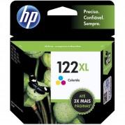 CARTUCHO ORIGINAL  HP 122XL COLOR 7,5ML (CH564HB)