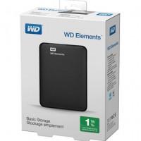 HD EXTERNO WESTERN DIGITAL 1TB PRETO.