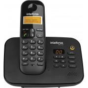 TELEFONE INTELBRAS TS 3130 PRETO SEM FIO  ID - TEL INT.SEM FIO 3130
