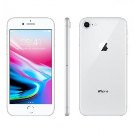 APPLE IPHONE 8 SILVER 64GB CABO + CARREGADOR