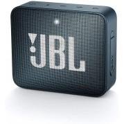 JBL GO 2 AZUL MARINHO COM BLUETOOTH/AUXILIAR BATERIA 730 MAH