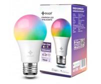 LAMPADA INTELIGENTE SMART RGB BULBO LED WI-FI ALEXA GOOGLE