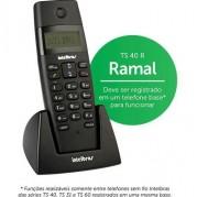 TELEFONE RAMAL SEM FIO DIGITAL TS 40 R INTELBRAS