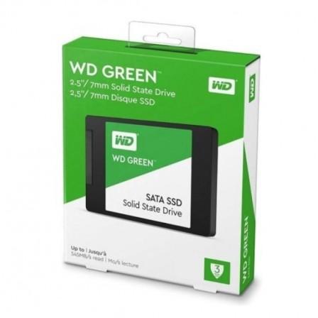 SSD 120GB WD GREEN WDS120G2G0A DE 545MB/S DE LEITURA -