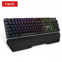 TECLADO GAMER HAVIT HV-KB432L PRETO