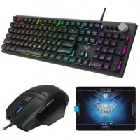 KIT TECLADO E MOUSE GAMER AULA T202