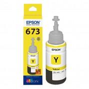 REFIL TINTA EPSON T673 AMARELO L800